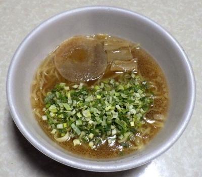 2/27発売 麺ニッポン 京都背脂醤油ラーメン(できあがり)