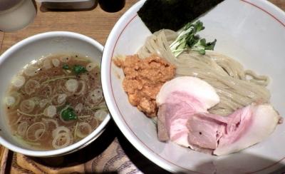 麺と心 7 アンコウ白湯つけ麺 「海のフォアグラ」 ~アン肝ムース添え~