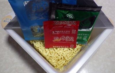 2/20発売 仙台牛タン風味塩焼そば(内容物)