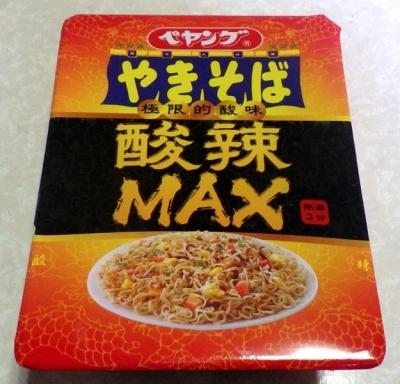 4/10発売 ペヤング 酸辣MAXやきそば