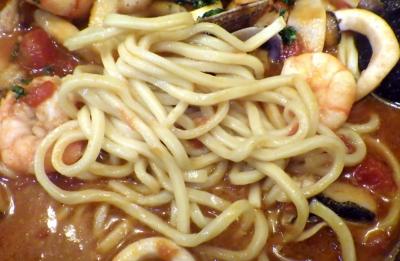 綿麺 フライデーナイト Part124 (17/2/24) ブヒィ!ヤベース(麺のアップ)