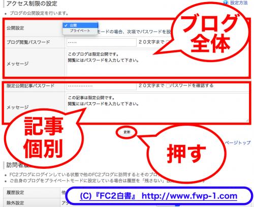 FC2ブログにパスワード制限をかける3