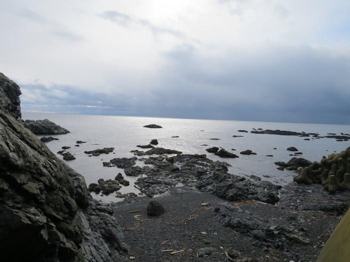 北海道最南端 白神岬