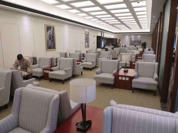 上海空港ラウンジ 浦東空港 JAL