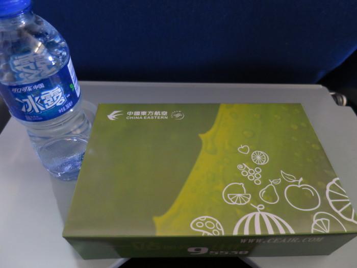 中国東方航空 機内食 朝食
