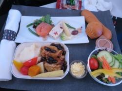 JAL26 香港便 機内食 ビジネスクラス