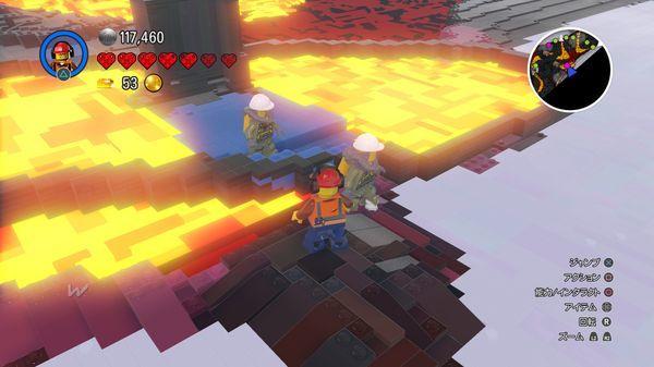 PS4【LEGO ワールド】 北極の平原 物騒な荒地 落ち葉の森 クエスト 【レゴワールド攻略】