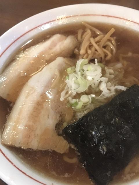 たま家 中華そば (並) 細麺