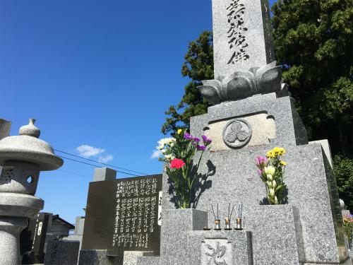 20181003墓参り