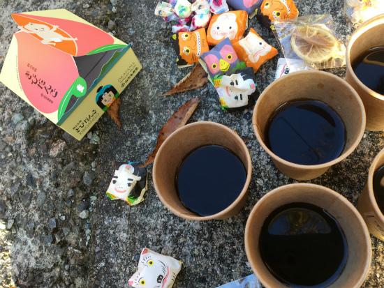 杉水まつり後のコーヒー2