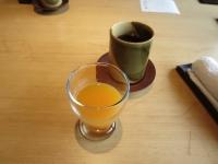 オレンジとヤマモモのミックスジュース