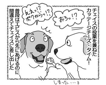 """羊の国のラブラドール絵日記シニア!!「ドラマ""""カッテージチーズと俺達""""」1"""