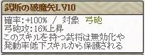 武断Lv10
