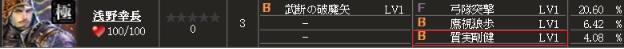 極 浅野行長(2)S1