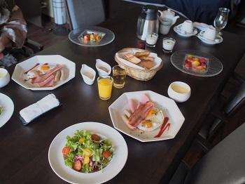 うちのこ記念旅行玉響の風朝食20170308-2