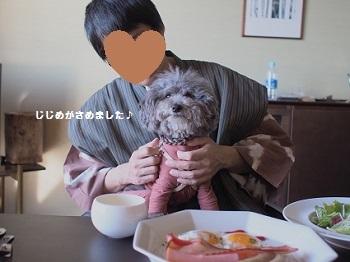 うちのこ記念旅行玉響の風朝食20170308-6
