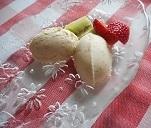 ⑧デザート オリーブオイルアイスクリーム