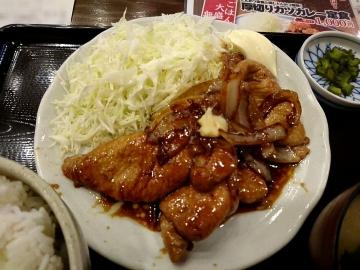 ヴィアHD 紅とん 生姜焼き定食03 201701