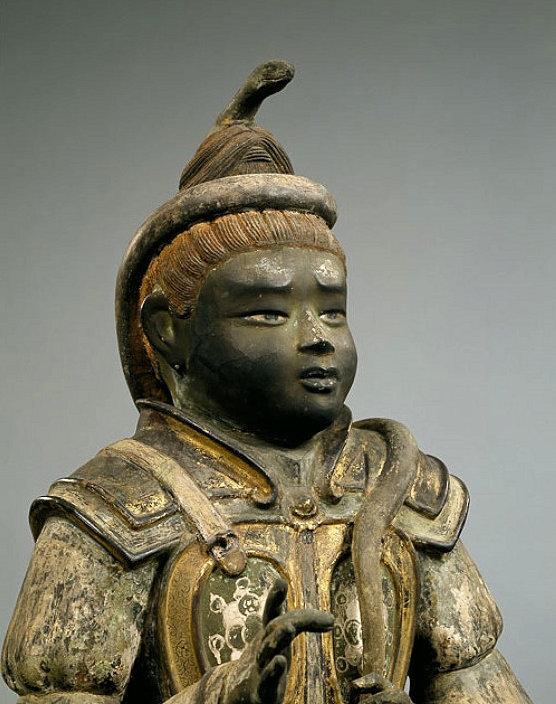 興福寺・八部衆のうちの沙羯羅像~童子の表情