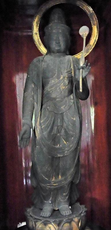 光善寺・薬師三尊日光菩薩像