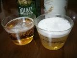 キリンビール ブラウマイスター 一番搾りとの比較