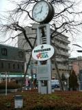 JR戸田公園駅 郵便貯金活用施設の時計台