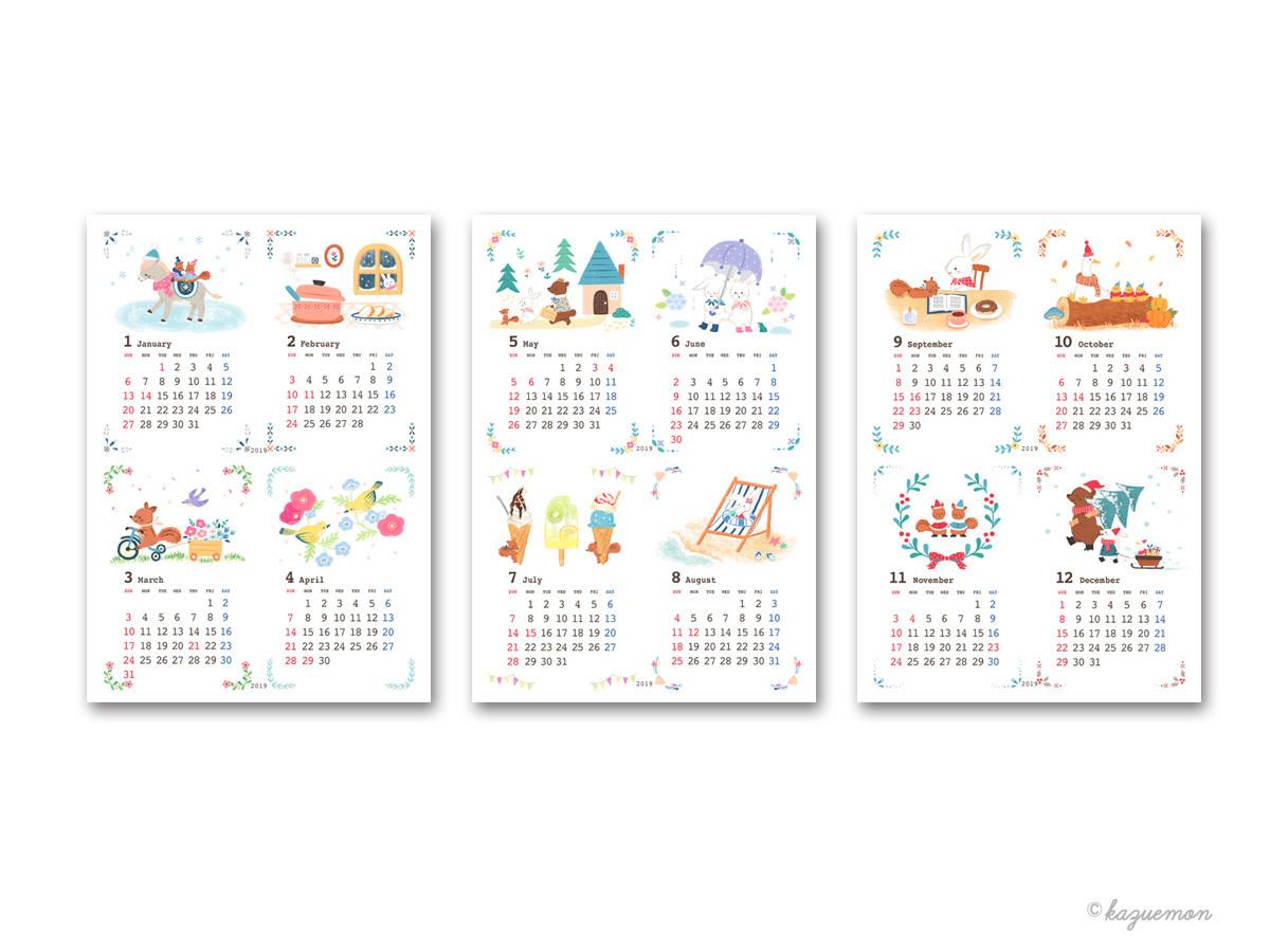 KADOKAWAカレンダー