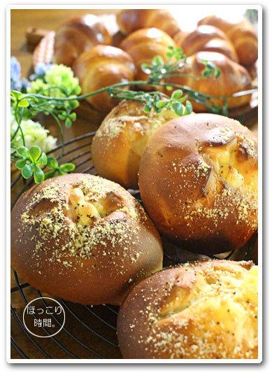 チーズバンズとロールパン