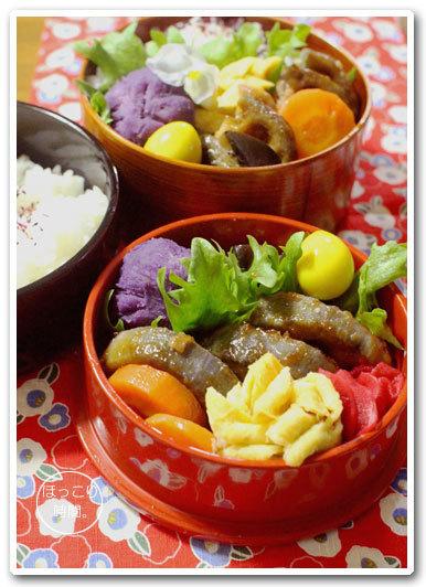 🍳レンコン肉詰め照り焼き弁当