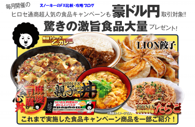 ヒロセ通商キャンペーンスワップポイント編