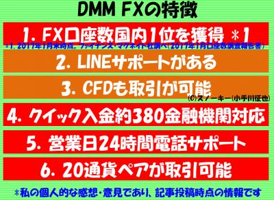 DMM FXの評判と特徴2017