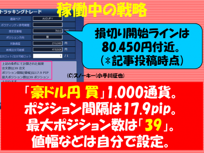 20170416トラッキングトレード検証豪ドル円ロング