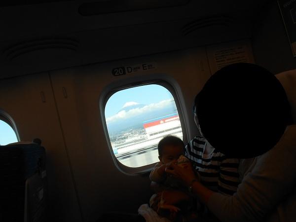 181028名古屋UP用 112名古屋UP用 104新幹線の中から富士山が綺麗に見えたよ