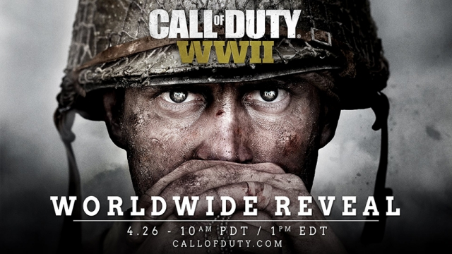 Call of Duty WW2 Reveal on April 26