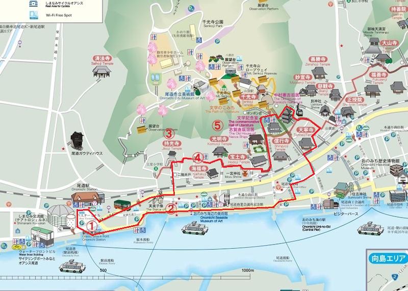 尾道市街地観光案内図-2