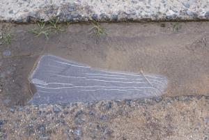 170211溝の氷