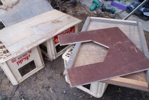 170223犬小屋作り