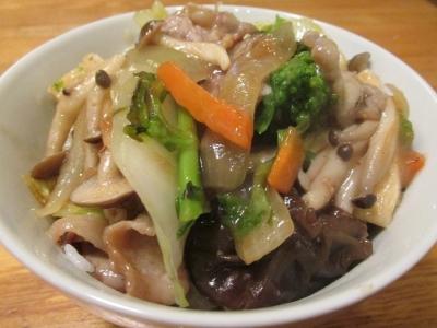 魚介な2中華丼1