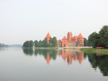 トラカイ城1