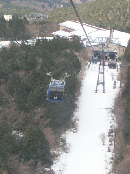 箱根 3月の雪4