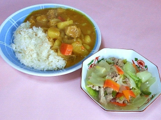 170224_4470 財田さんの料理・印度カレー・八宝菜VGA