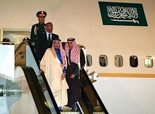 170312 サウジアラビアのサルマン国王来日 m_jiji-0023513659_640x470