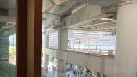 千葉駅のモノレール橋脚
