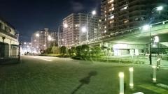 旧東大島駅操車所