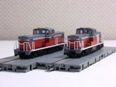 DD13・300と600の並び