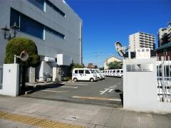 旧銀座車庫(初代熊谷営業所)跡