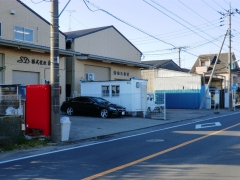 旧南中学校入口折返所跡