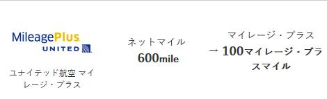 ネットマイルからマイレージプラス