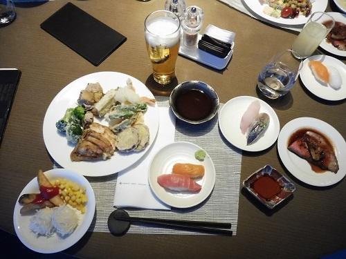ヒルトン小田原の夕食