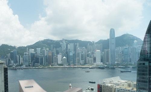 香港のビル群